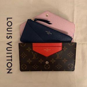 ⭕️SOLD⭕️Louis Vuitton Jeanne Monogram Wallet